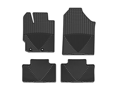 2014 Toyota Tundra CrewMax Floor Mat - 1-2Row - Black from A-1 Toyota