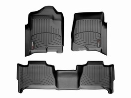 2014 Toyota Tundra CrewMax Floor Liner - 1st and 2nd Row from A-1 Toyota