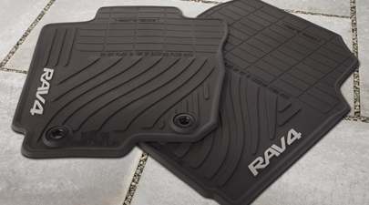 2013 toyota rav4 all weather car floor mats by autos post. Black Bedroom Furniture Sets. Home Design Ideas