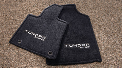 2014 Toyota Tundra CrewMax Carpet Floor Mats - Black from A-1 Toyota