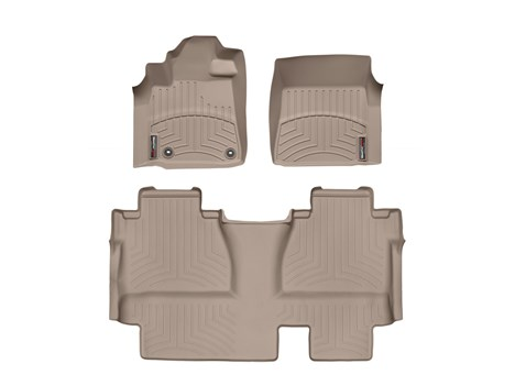 2014 Toyota Tundra CrewMax Floor Liner - 1-2Row - Tan from A-1 Toyota