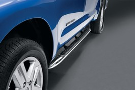2013 Toyota Tundra Double Cab Step Tube - Double Cab - Chrome from A-1 Toyota